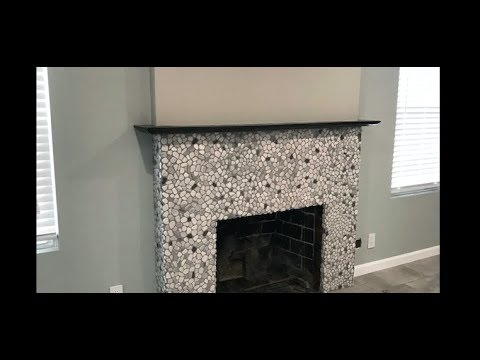 How to Make a Modern Rustic Mantel by CoKnowPro (YouTube)