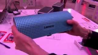 REPORTAGE High-Tech : présentation enceinte LENCO GRID 7