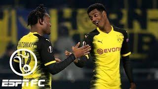Borussia Dortmund storms back in Europa League thanks to Michy Batshuayi's two goals | ESPN FC