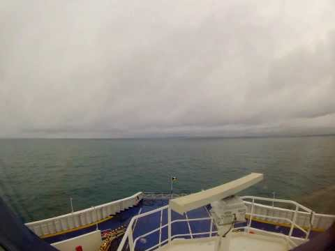 Crossing Strait of Dover in 1m30s