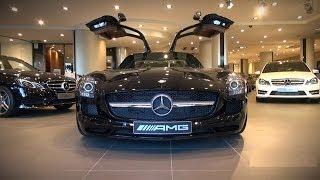 Visiting Mercedes-Benz / McLaren Monaco Showroom