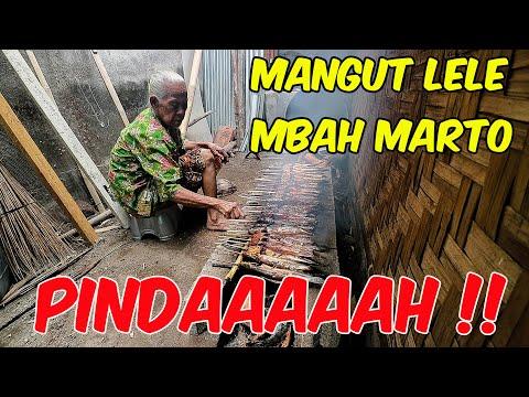 mbah-marto-90-tahun-masih-jualan-mangut-lele-di-lokasi-baru-patalan-||-mangut-lele-mbah-marto