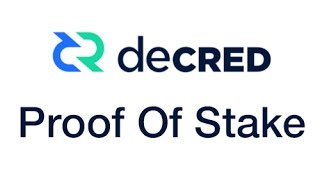 Decred Proof of Stake