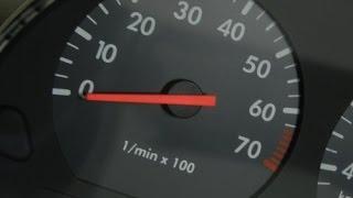 Conta giros (RPM) e velocímetro digital em Gol bola, Parati, Voiage, Santana, Logos, motor AP