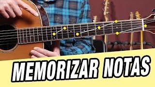 Cómo MEMORIZAR TODAS las NOTAS de la Guitarra [Mejor Método]