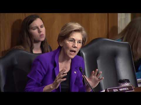 Senator Elizabeth Warren asks about protecting medical information in the workplace
