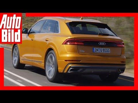 Audi Q8 (2018) Sitzprobe/Interview/Details/Erklärung