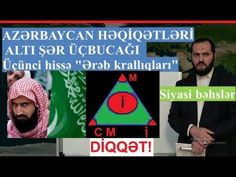 ALTI ŞƏR ÜÇBUCAĞI 3-ci hissə Ərəb krallıqları - Azərbaycan həqiqətləri