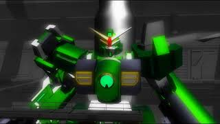 GT-9600 Gundam Leopard Equipped with S-1 underwater booster   After War Gundam X   Gundam 3D Model