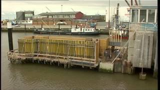 Neubau der Sperrwerke in Cuxhaven