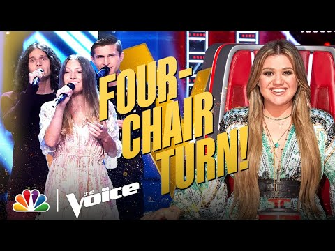 """Girl Named Tom's Four-Chair Turn Performance: """"Helplessly Hoping"""" 