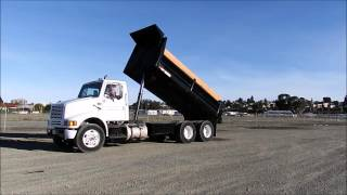 1993 INTERNATIONAL 8100 6X4 3 AXLE DUMP TRUCK