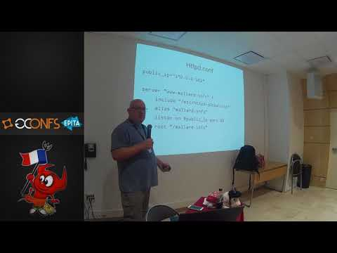 The OpenBSD web stack, by Michael W. Lucas (EuroBSDcon 2017)