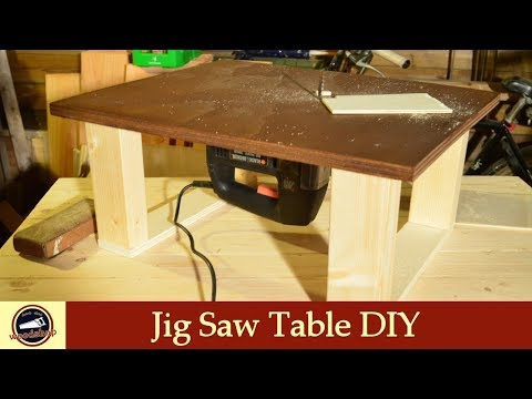 Homemade Jigsaw Table DIY | How To Buid One | #14