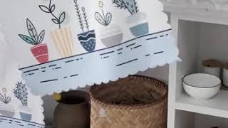 가림막 베란다 창문 냉장고 선반 수납장 책장 가리개