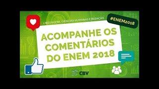 Comentários e Gabarito ENEM 2018 - 1º Dia