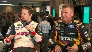 Bowyer, Keselowski Know Why Kids Love Kyle Busch