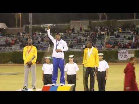 Justin Donawa Wins Gold Carifta Bermuda Apr 9 2012