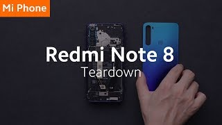 Redmi Note 8: Teardown