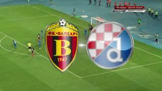 FK Vardar - GNK Dinamo Zagreb (1:2) SAŽETAK(Vardar 1:2 Dinamo (Hambardzumyan/ Mijuskovic-ag.,Rog), 2016-07-13T08:05:20.000Z)