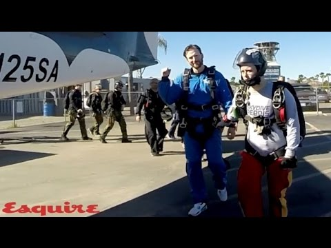 Chris Evans - Skydiving