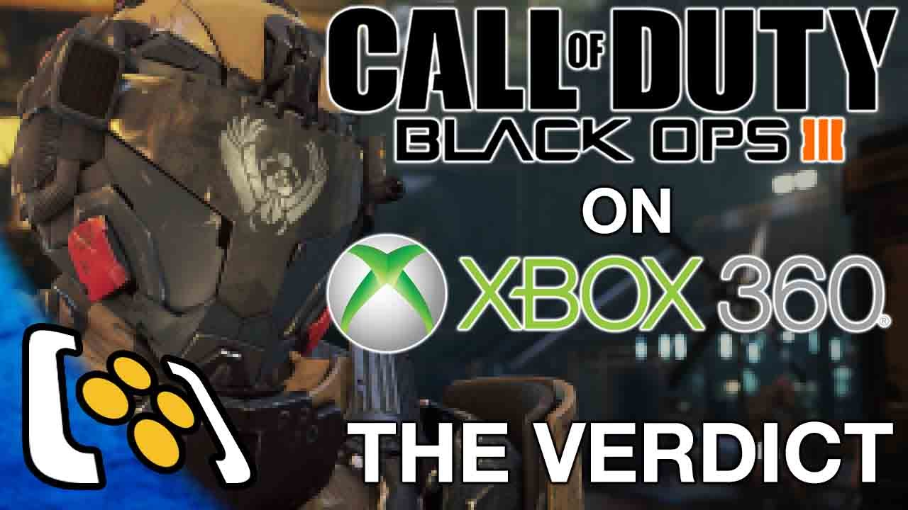 Call Of Duty Black Ops 3 Xbox 360 Gameplay Does Black Ops 3