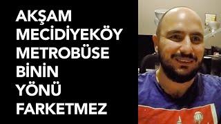 Akşam Mecidiyeköy'den Metrobüse Binin Yönü Farketmez - Yazılımcı Sohbetleri (Zafer Çakmak)