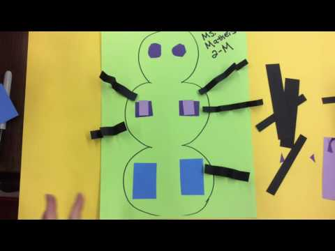 Construction Paper Insects