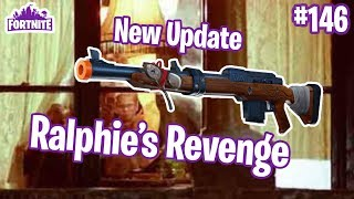 7.1 Patch Notes | Ralphie's Revenge Christmas Sniper | Fortnite #146