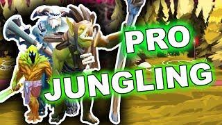 Dota 2 Tips: Professional 7.07 Jungling Guide!