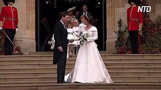 Какое платье выбрала принцесса Евгения для своей свадьбы
