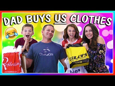 DAD BUYS OUR OUTFITS CHALLENGE | We Are The Davises