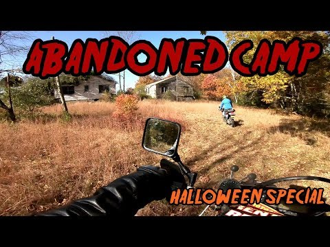 ABANDONED CAMP, Haunted Place Upstate NY Halloween Special