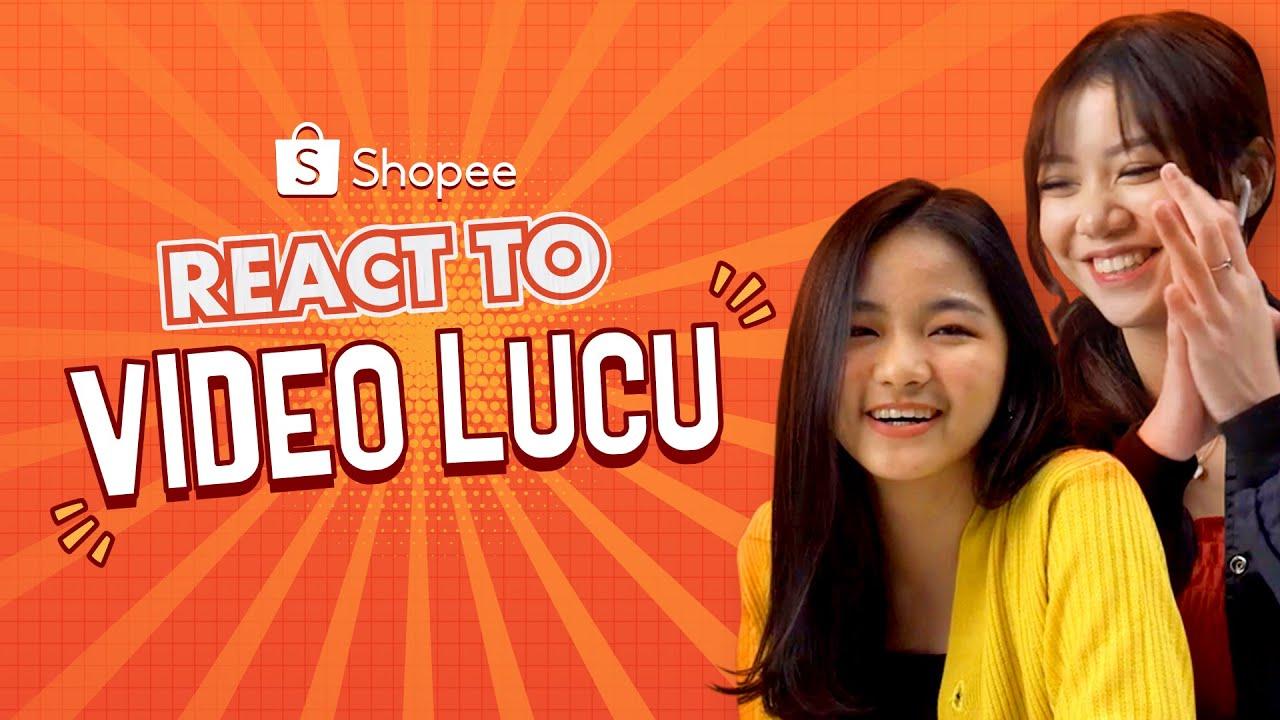 Tahan Ketawa Nonton Video Lucu Bareng Pricilia Micca & Regina Phoenix | Shopee React To