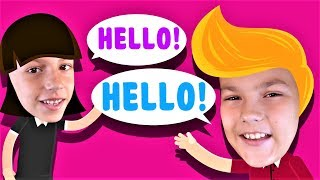 Hello Song for Kids | Nursery rhymes and Kids Songs
