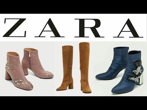 diseño de calidad variedad de diseños y colores zapatos de temperamento BOTAS Y BOTINES DE MODA ZARA MUJER | Tendencias en zapatos planos y tacón |  OTOÑO INVIERNO 2017 2018