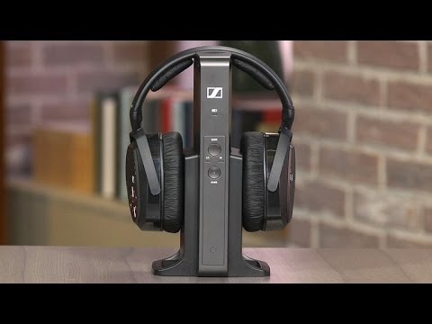 34d48ed5f4e Sennheiser RS 175: Premium wireless headphones for TV watching - YouTube