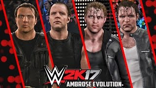 WWE 2K17 - Dean Ambrose Entrance Evolution! ( WWE 2K14 To WWE 2K17 )