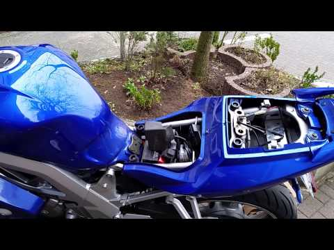 Suzuki SV650s LED Blinkerrelais + Blinker wechsel