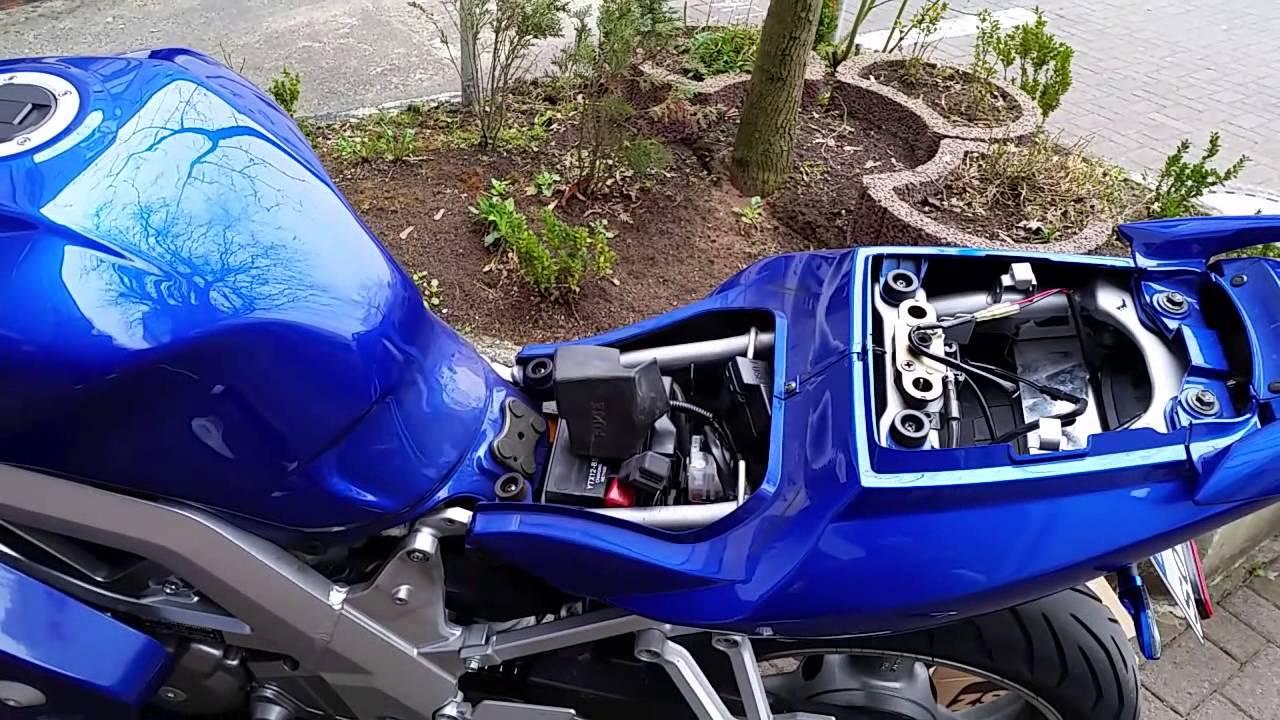 Suzuki SV650s LED Blinkerrelais + Blinker wechsel - YouTube