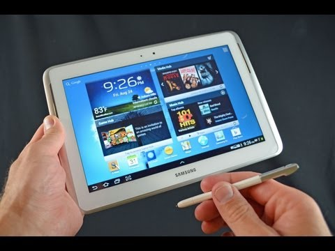 Samsung Galaxy Note 10.1 Tablet: Unboxing & Review
