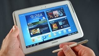 Samsung Galaxy Note 10.1 Tablet: Unboxing & Review thumbnail