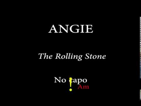 ANGIE - ROLLING STONES - Easy Chords And Lyrics