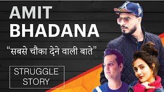 AMIT BHADANA(अमित भड़ाना) Struggle Story (कहानी) | Biography | Riya Mavi | Rohit (हिंदी)