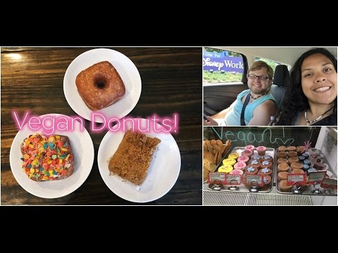 FLORIDA VACATION 2016 | DAY 7 PT 2 - VEGAN DONUTS & DISNEY SPRINGS! 🍩