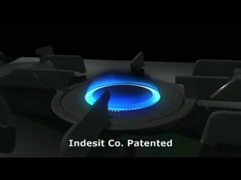 Hotpoint ariston luce direct flame 2011 youtube for Direct flame
