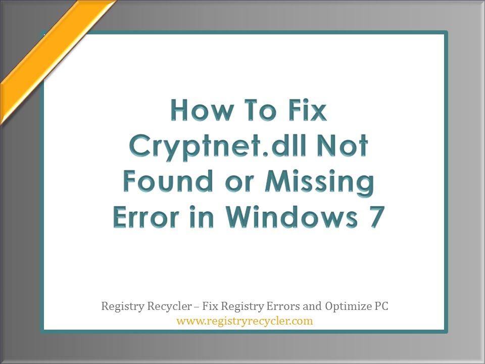 cryptnet.dll