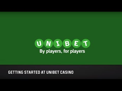 Getting Started at Unibet Casino