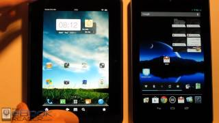 Kindle Fire HD vs Google Nexus 7 Comparison Review