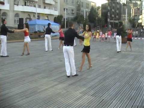 Cha Cha Cubano Show Style - Loga Dance SCHOOL - Cantonament 2009